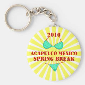 2016年のアカプルコの春休みの記念品Keychain キーホルダー