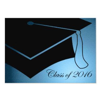 2016年の卒業の帽子のクラス 12.7 X 17.8 インビテーションカード