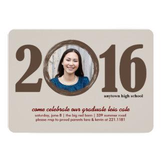 2016年の卒業の招待状 カード