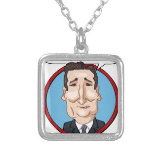 2016年の大統領選挙 シルバープレートネックレス