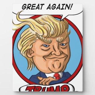 2016年の大統領選挙 フォトプラーク