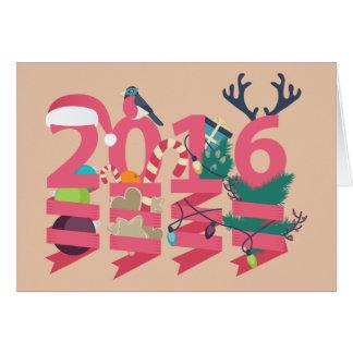 2016年の年賀状 カード