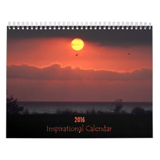 2016年の感動的な自然のカレンダー カレンダー