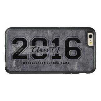 2016年の文字及び汚い金属灰色の質のクラス オッターボックスiPhone 6/6S PLUSケース