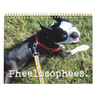 2016年のPheelosopheesのカレンダー カレンダー