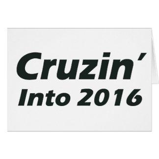 2016年へのCruzin -白黒 カード