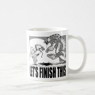 2016年: これを終えよう コーヒーマグカップ