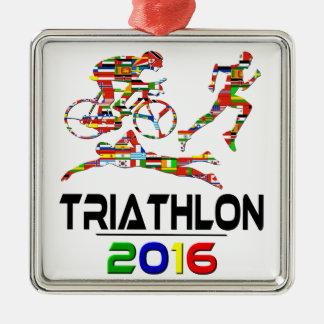 2016年: トライアスロン メタルオーナメント