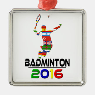 2016年: バドミントン メタルオーナメント