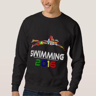 2016年: 水泳 スウェットシャツ