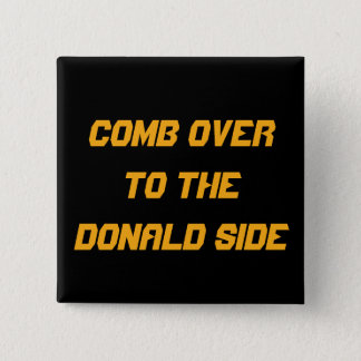 2016% pipe%の櫛ドナルドサイド|正方形Pinに 5.1cm 正方形バッジ