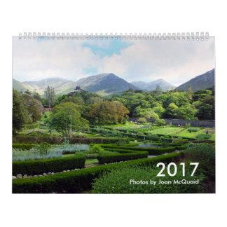 2017カレンダー: ジョアンMcQuaid著写真 カレンダー