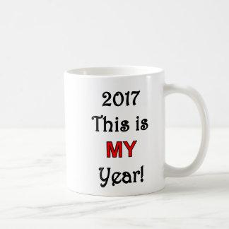 2017年これは私の年のコーヒー・マグです コーヒーマグカップ
