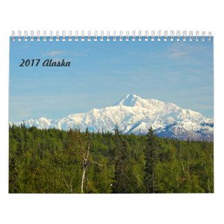 2017年のアラスカ カレンダー