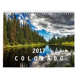 2017年のコロラド州 カレンダー