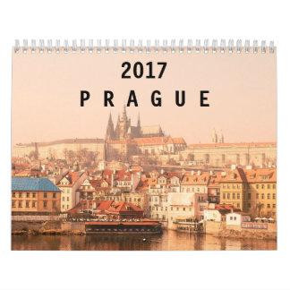 2017年のプラハ カレンダー