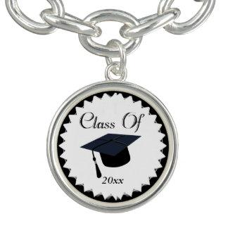 2017年の卒業のクラス チャームブレスレット