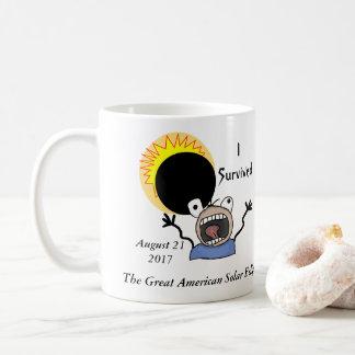 2017年の日食の存続の版 コーヒーマグカップ