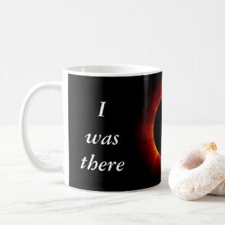 """2017年の日食""""私は""""版そこにいました コーヒーマグカップ"""