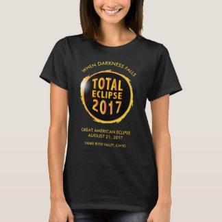2017年の総日食 Tシャツ