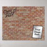 """2017年の署名のクラスは""""私の壁""""ので書きます ポスター"""