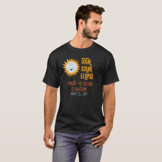 2017年のEmojiの月の合計の日食の素晴らしいワイシャツ Tシャツ