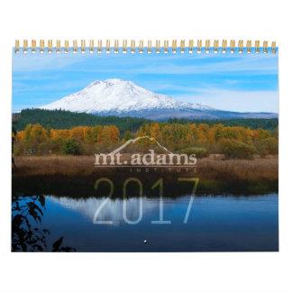 2017年のMt.アダムスの協会のカレンダー カレンダー