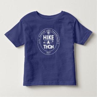 2017年ハイキングThonのTシャツ-幼児の トドラーTシャツ