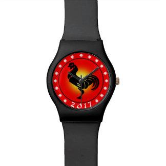 2017年間のオンドリ 腕時計