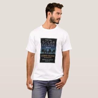 2017総日食-壮大な島、NE Tシャツ