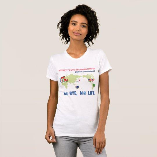 2017-18 Outbound女性用Tシャツ Tシャツ