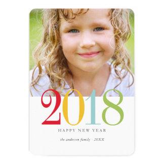 2018休日の写真カード カード