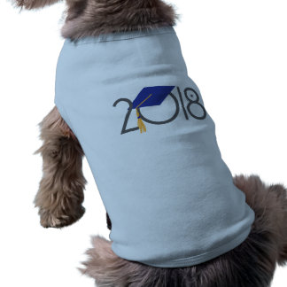 2018大学院のデザインペットタンクワイシャツ ペット服