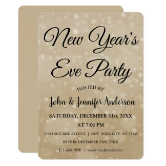 2018大晦日のパーティーののどの《写真》ぼけ味 カード