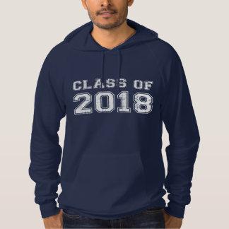 2018年のクラス パーカ