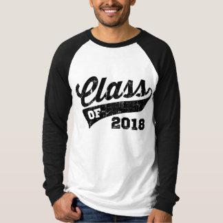 2018年のクラス Tシャツ