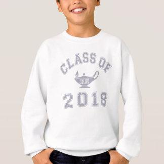 2018年RNのクラス(記録のナース) -灰色2の スウェットシャツ