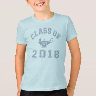 2018年RNのクラス(記録のナース) -灰色2の Tシャツ