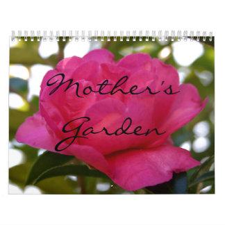 2018母の庭のカレンダー カレンダー