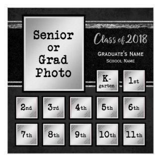 2018記念するK-12写真のクラス ポスター