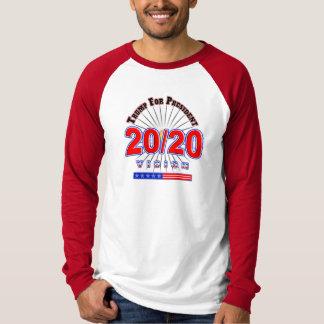 2020再大統領の選挙のTシャツを選んで下さいTrump 45 Tシャツ