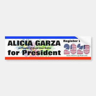 2020年に大統領のためのアリシアGARZA - バンパーステッカー