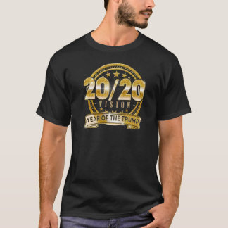 2020 Vision Re Elect Trump for President T-shirt Tシャツ