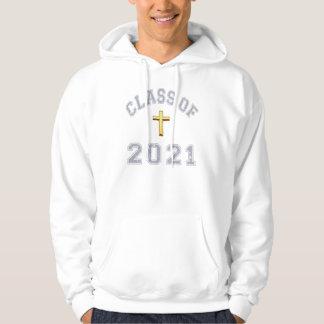 2021キリスト教の交差の灰色のクラス2 パーカ