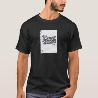 2028年のクラス! Tシャツ