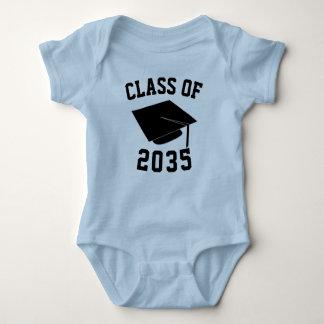 2035年のベビーのワイシャツのクラス ベビーボディスーツ