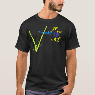 20 10のコレクションのTシャツ Tシャツ