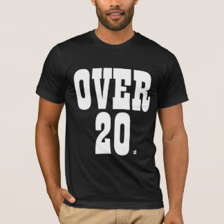 20 x2に tシャツ