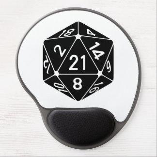 21第21誕生日D20のファンタジーのゲーマーは死にます味方しました ジェルマウスパッド