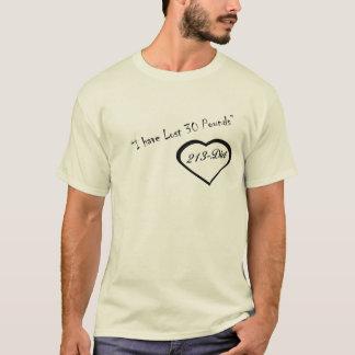 213ダイエットの無くなった30ポンド Tシャツ